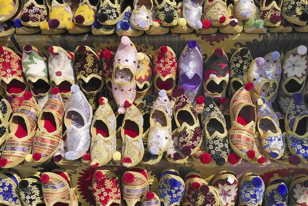Wall Art - Photograph - Turkish Slippers by Liz Pinchen