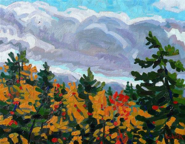 Stratocumulus Painting - Turn Coat by Phil Chadwick