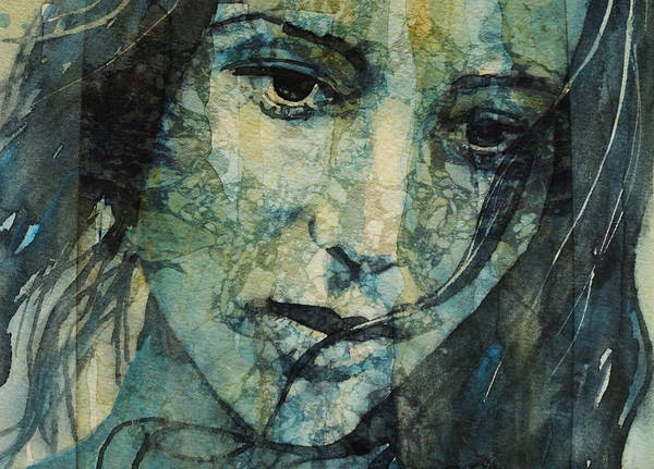 Woman Eye Painting - Turn Down These Voices Inside My Head by Paul Lovering