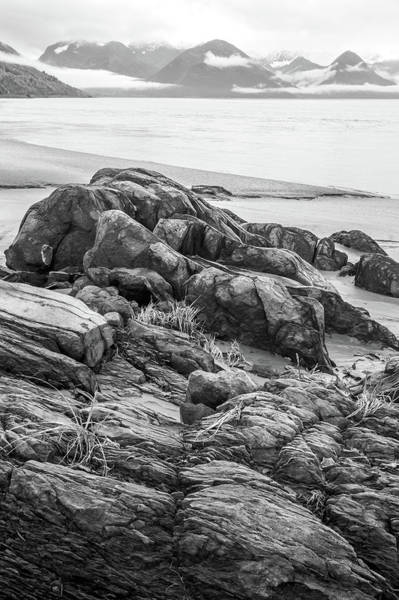 Photograph - Turnagain Granite by Tim Newton