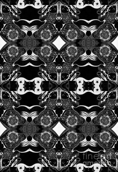 Digital Art - Turned Tables - Reverse Arrangement by Helena Tiainen