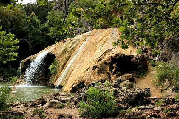 Photograph - Turner Falls And Cave by Sheila Brown