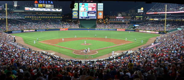 Hotlanta Photograph - Turner Field Atlanta by Luke Pickard