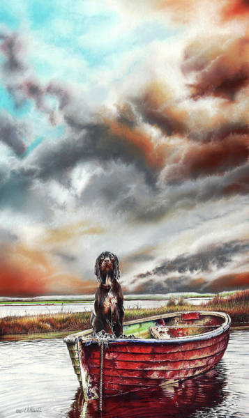 Turner's Dog Art Print