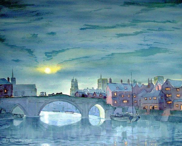 Painting - Turner's York by Glenn Marshall
