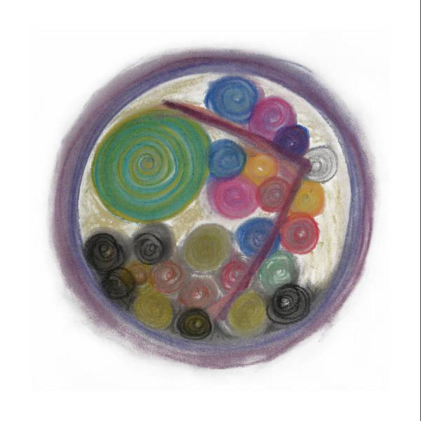 Pastel - Turning The Corner by Annette Hadley