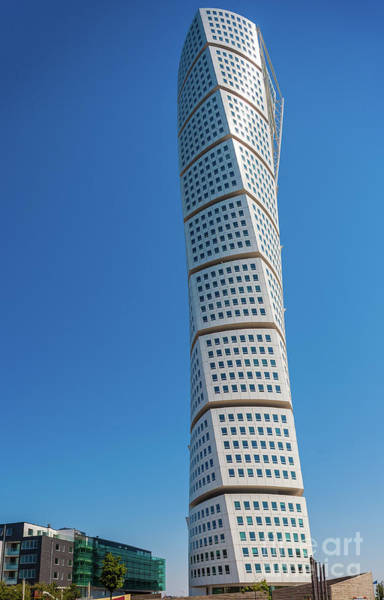 Scandinavia Photograph - Turning Torso by Inge Johnsson