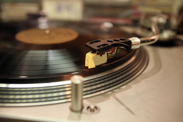 Photograph - Turntable by Gunter Nezhoda