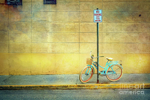 Photograph - Turquoise Bicycle by Craig J Satterlee