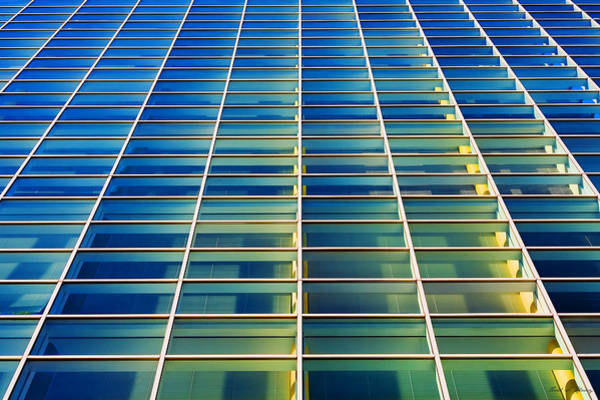 Photograph - Turquoise Building by Todd Klassy