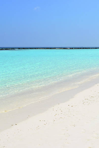 Photograph - Turquoise Clear Water In The Maldives by Oana Unciuleanu