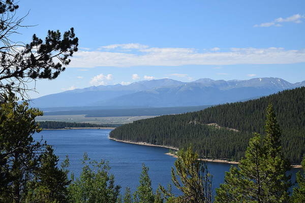 Photograph - Turquoise Lake Leadville Co by Margarethe Binkley