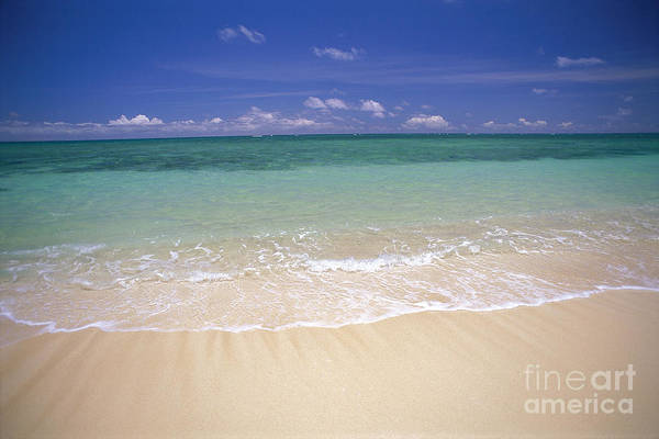 Expanse Photograph - Turquoise Shoreline by Carl Shaneff - Printscapes