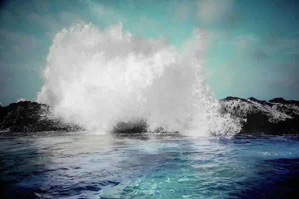 Photograph - Turquoise Sky, Turquoise Sea by Susan Maxwell Schmidt
