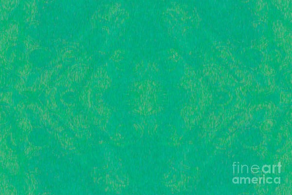 Painting - Turquoise Transitions Abstract Design Art By Omaste Witkowski  by Omaste Witkowski