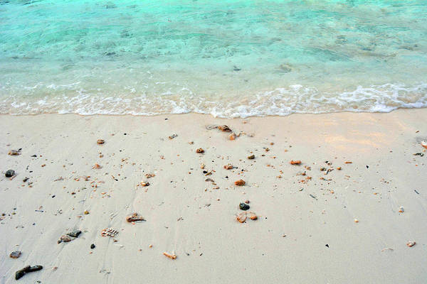 Photograph - Turquoise Water At The Beach With Light Sand by Oana Unciuleanu