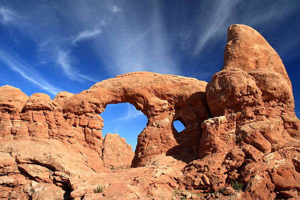 Photograph - Turret Arch In Arches National Park by Pierre Leclerc Photography