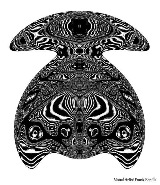 Digital Art - Turtle Art by Visual Artist Frank Bonilla