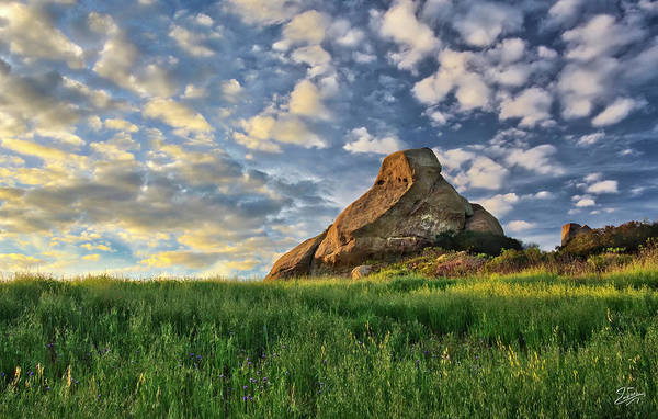 Photograph - Turtle Rock At Sunset 2 by Endre Balogh