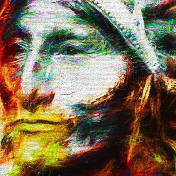 Wall Art - Photograph - #turtleisland #nativeamericanindian by David Haskett II