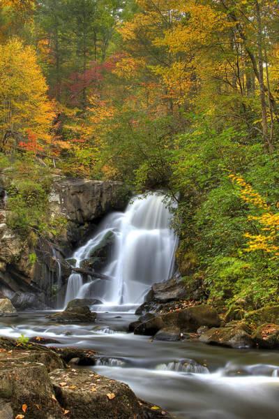 Photograph - Turtletown Creek Falls by Debra and Dave Vanderlaan