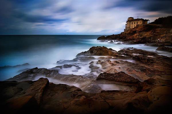 House Photograph - Tuscan Coast - Calafuria by Antonio Grambone
