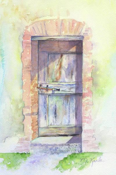 Painting - Tuscan Doorway by Marsha Karle