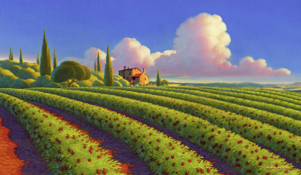 Wall Art - Painting - Tuscan Summer by Robin Moline
