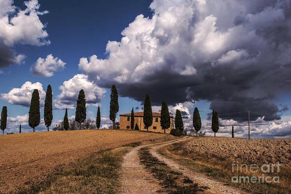 Tuscany Photograph - Tuscan Villa by Yuri San