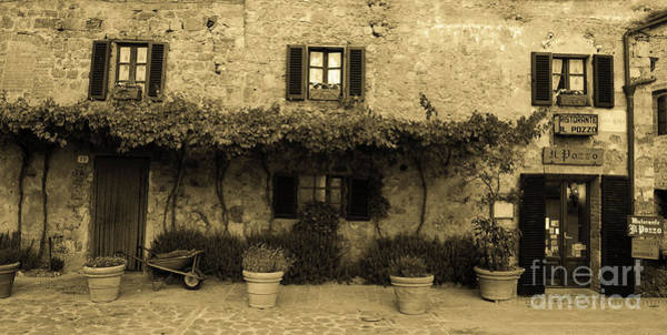 Photograph - Tuscan Village by Frank Stallone