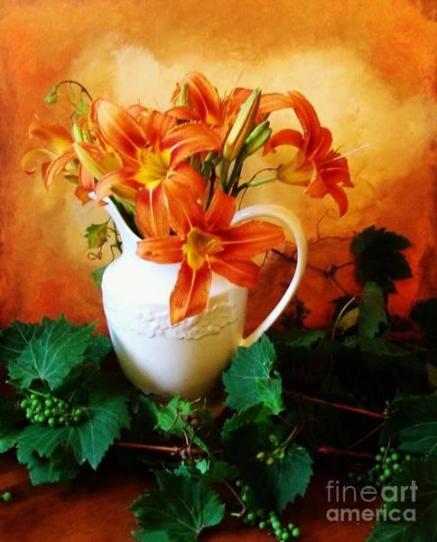 Tigerlily Wall Art - Photograph - Tuscany Bouquet by Marsha Heiken