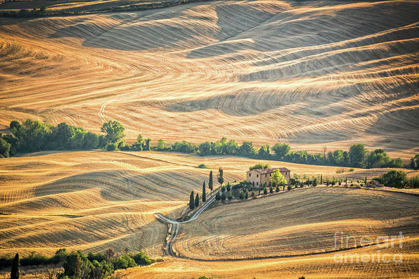 Villa D Wall Art - Photograph - Tuscany by Delphimages Photo Creations