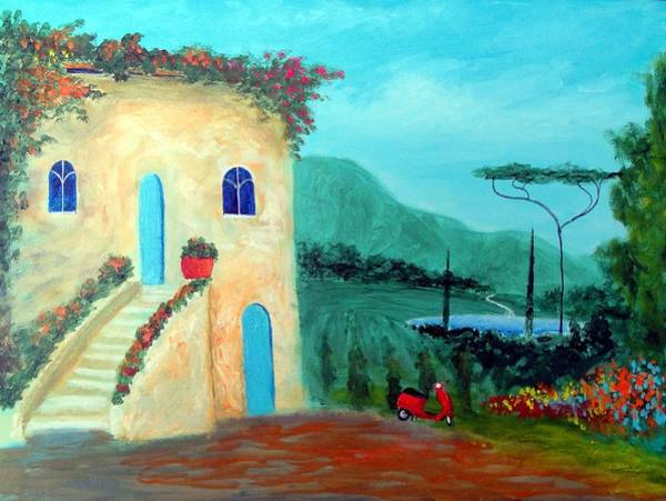 Tuscany Dreams Art Print