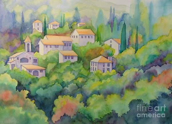 Painting - Tuscany by Val Stokes