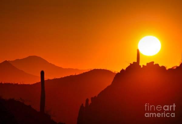 Wall Art - Photograph - Tucson Sunset by Ann Loyd