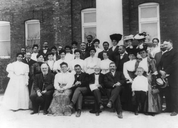 Wall Art - Photograph - Tuskegee Institute Faculty by Frances Benjamin