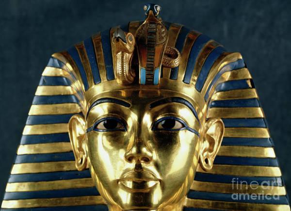 Wall Art - Photograph - Tutankhamun by Egyptian School
