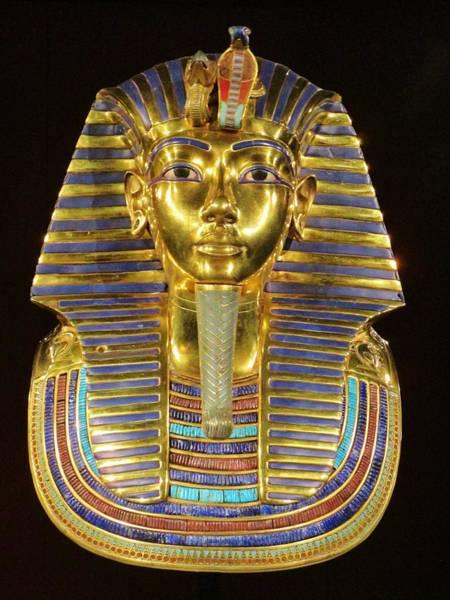 Photograph - Tutankhamun's Death Mask, by Rosita Larsson