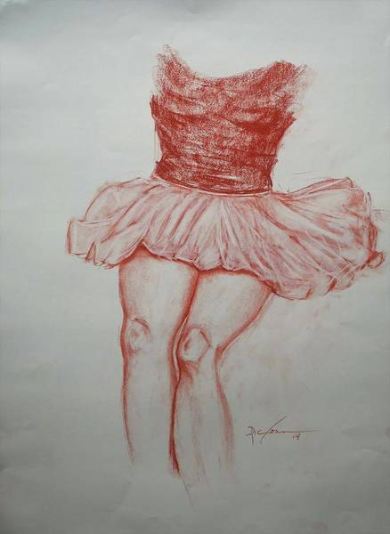 Painting - Tutu by Ric Conn