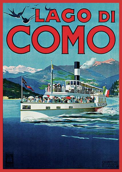 Photograph - Lago Di Como by Unknown Artist