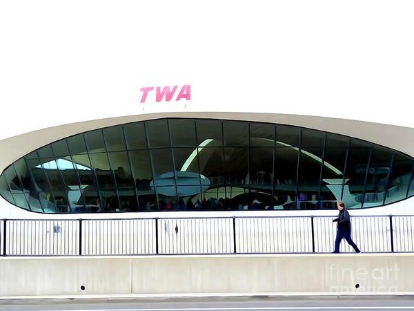 Wall Art - Photograph - Twa Terminal by Ed Weidman
