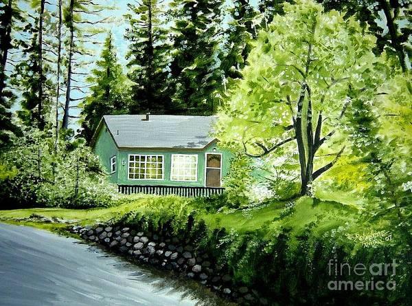 Painting - Twaine Harte by Elizabeth Robinette Tyndall