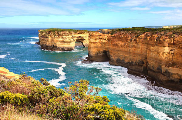 Etched Photograph - Twelve Apostles Great Ocean Road by Bill  Robinson