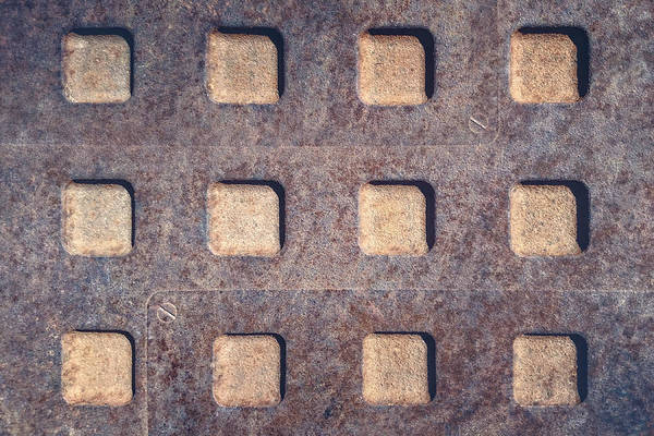 Dirty Photograph - Twelve Squares by Scott Norris