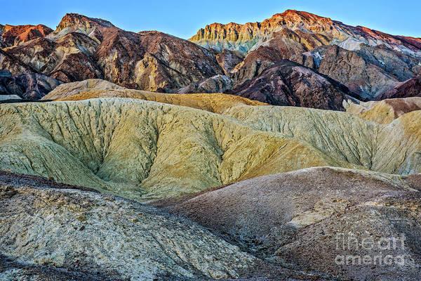 Wall Art - Photograph - Twenty Mule Team Canyon by Charles Dobbs