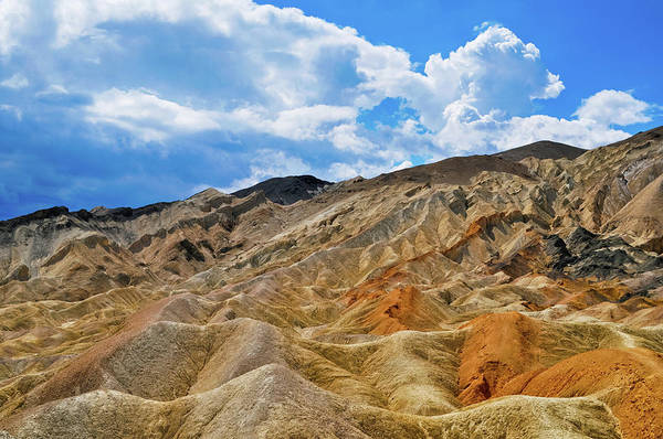 Photograph - Twenty Mule Team Canyon Death Valley by Kyle Hanson