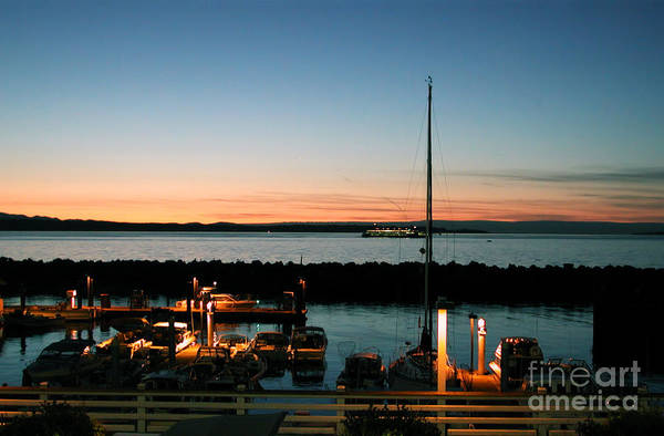 Photograph - Twilight At Edmonds Marina by Kathi Shotwell