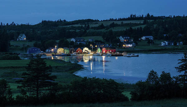 Photograph - Twilight At French River Harbour, Pei by Rob Huntley