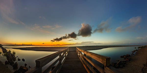 Photograph - Twilight At Goulds Inlet by Chris Bordeleau