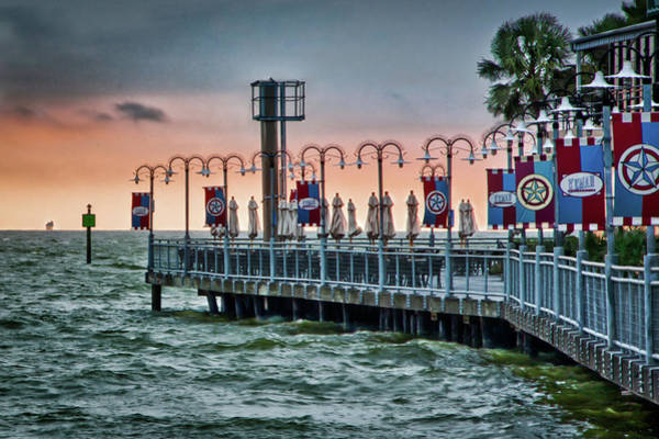 Photograph - Twilight At Kemah by James Woody